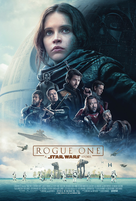 Affiche du film Rogue One: A Star Wars Story